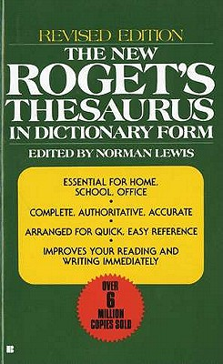 The New Roget's Thesaurus By Lewis, Norman (EDT)